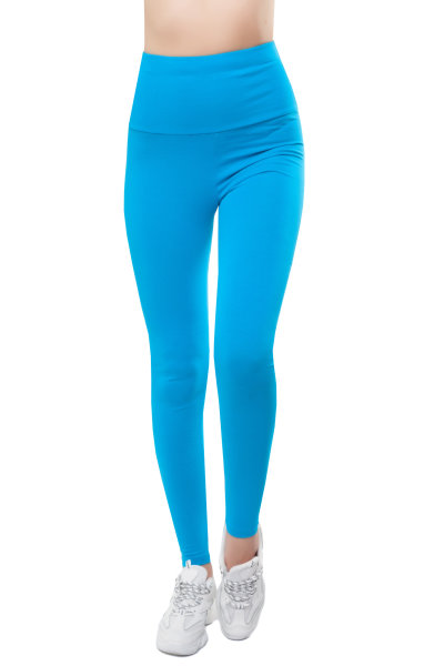 Bongual womens leggings long high waist cotton
