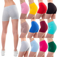 Bongual ® Shorts Leggings kurz Hotpants Baumwolle