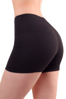 Womens shorts leggings short hotpants cotton  black