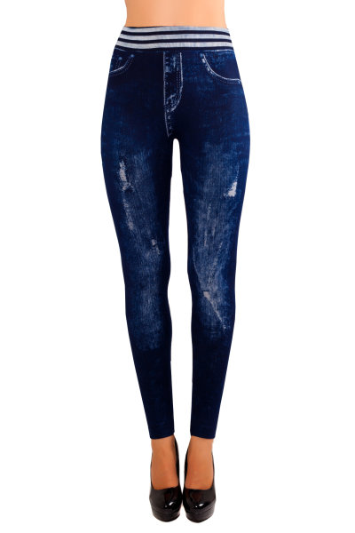 Womens jeggings jeans look leggings slip pants